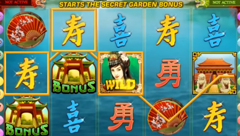 Fei Cui Gong Zhu™ Slot Machine Game to Play Free in Playtechs Online Casinos