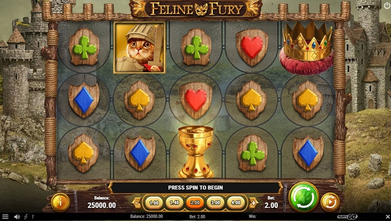 Play'N GO Unleashes Kitty Power with Feline Fury Slot