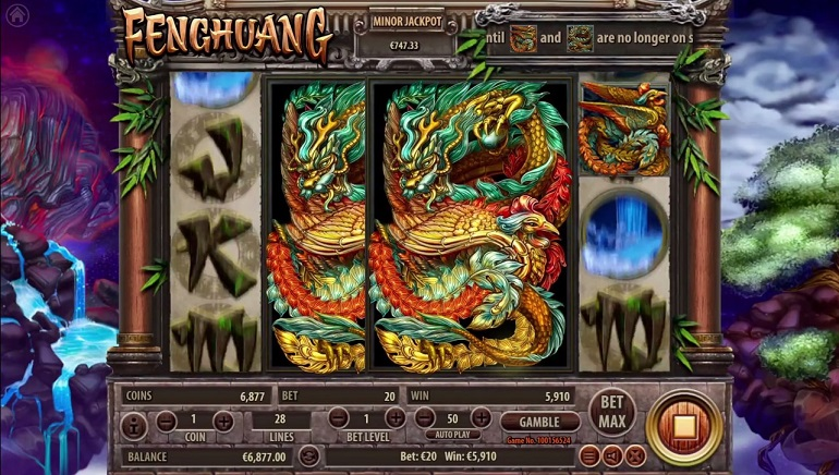 Experience Mystery of Chinese Mythology with New Habanero's Fenghuang Slot
