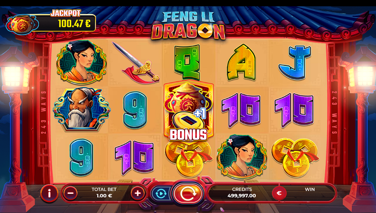 Feng Li Dragon by GAMING1 Set to Test Your Mettle