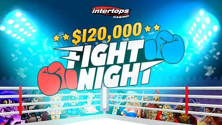 Intertops Casino Fight Night Promo Awarding $120,000 in Prizes