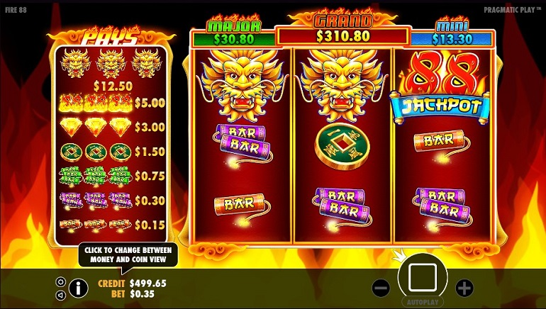 Fire 88 Slot Newly Released by Pragmatic Play