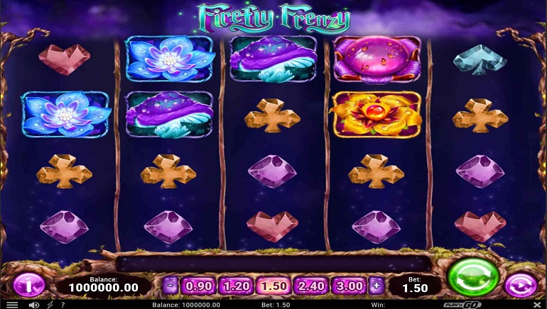 Playing Play'n GO's Firefly Frenzy