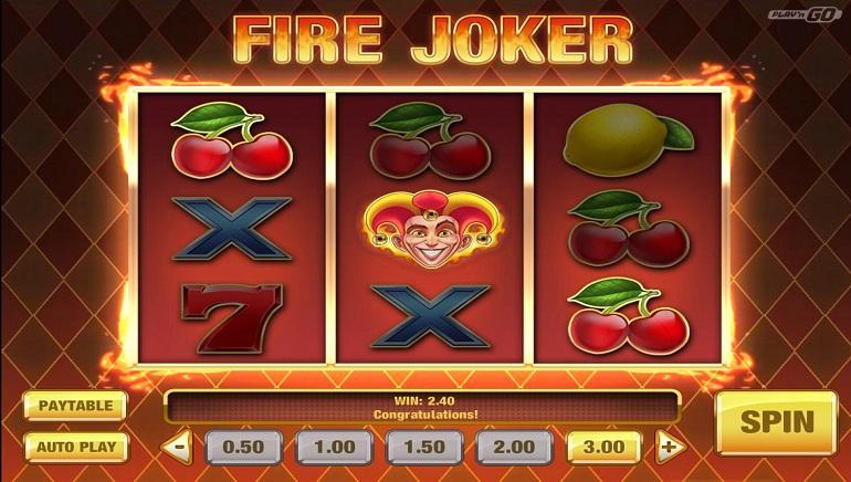 New Play'n GO Slot Release: Fire Joker