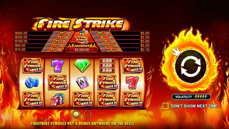 New Fire Strike Slot From Pragmatic Play Comes With Red Hot Features