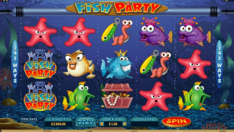 Microgaming's Fish Party Pays Out A Record €317K