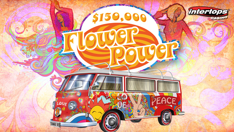 Intertops Casino Gives the Love with $150,000 Flower Power Casino Bonus
