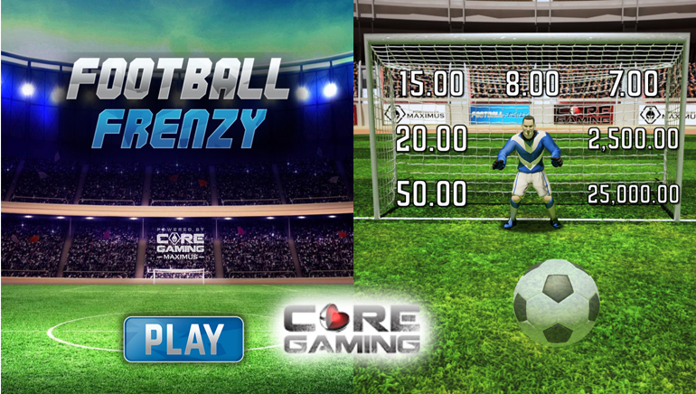 Core Gaming Kicks Off with Football Frenzy Instant Game
