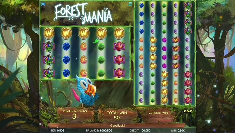 Forest Mania Slot Game Released by iSoftBet