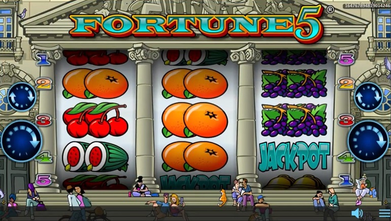 Fortune 5 Slot Debuts at Realistic Games Casinos