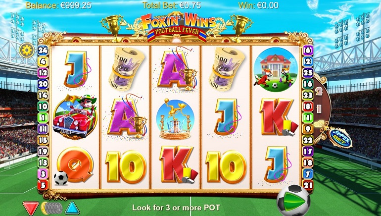 Slot Review: Foxin Wins Football Fever