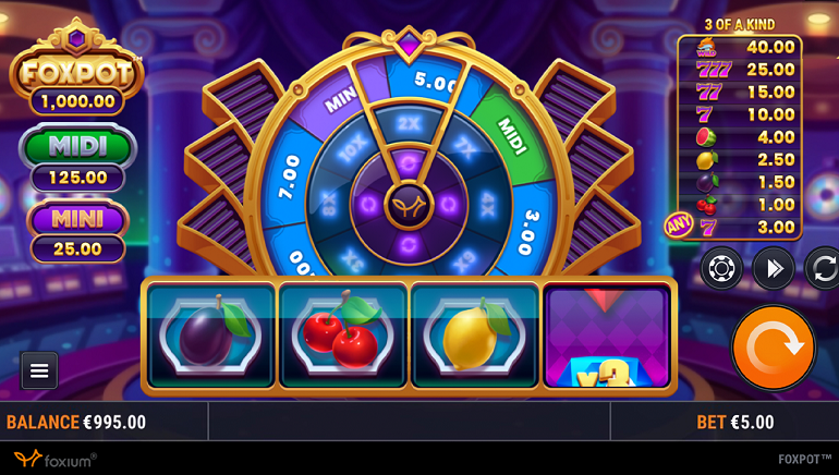 Foxpot Slot is a New Creation from Foxium