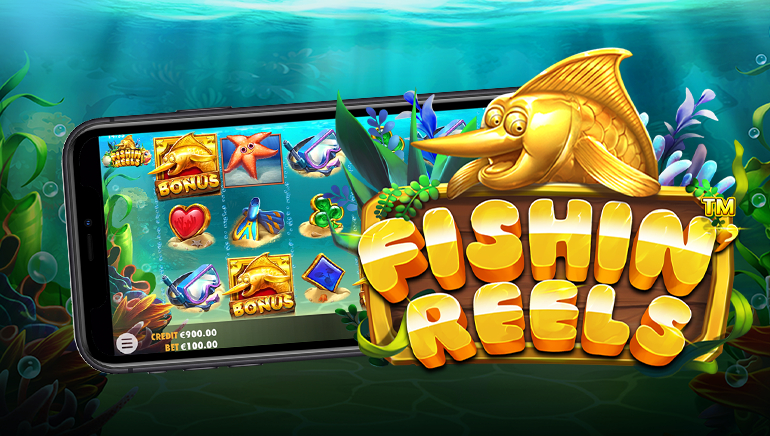 Players Can Now Catch Pragmatic Play's New Fishin' Reels Online Slot