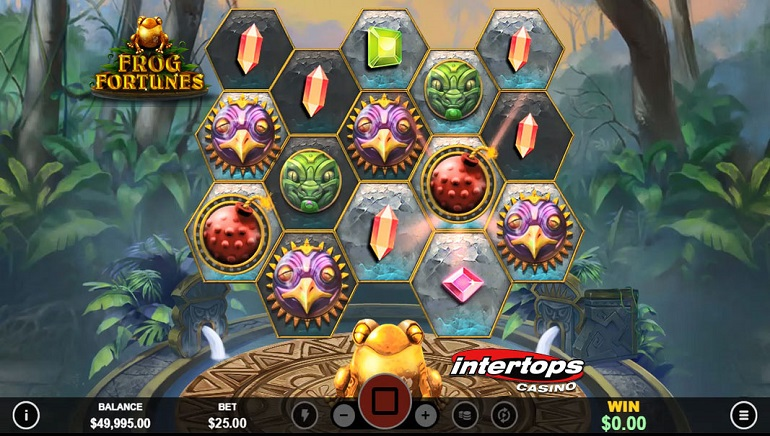Claim A Bonus And Free Spins On New Frog Fortunes Slot At Intertops Casino