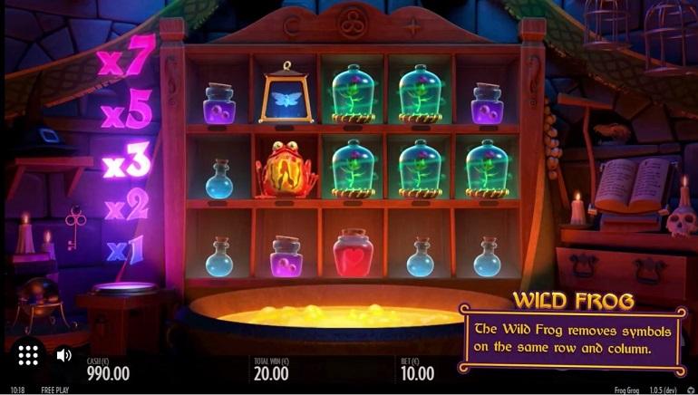 Slot Review: Thunderkick's Frog Grog