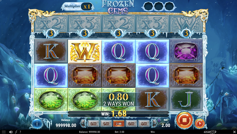Play'n GO Take Players On An Arctic Adventure With New Frozen Gems Slot