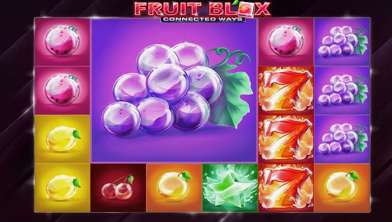 Playing Fruit Blox Slot from Red Tiger Gaming