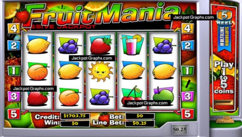 Fruit Mania Progressive Jackpot