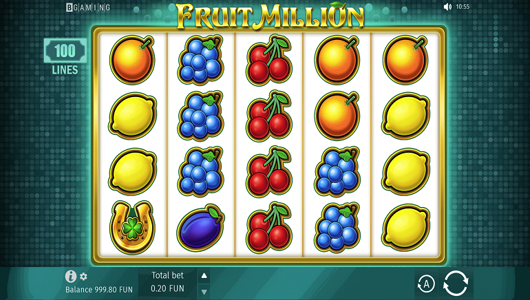 Feel The Love For Fruit Million Slot Valentine's Edition From BGaming
