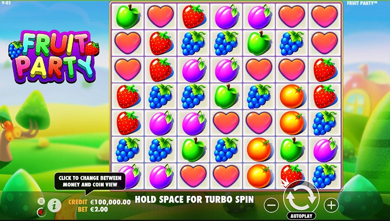 Summer Begins With Pragmatic Play's New Fruit Party Slot