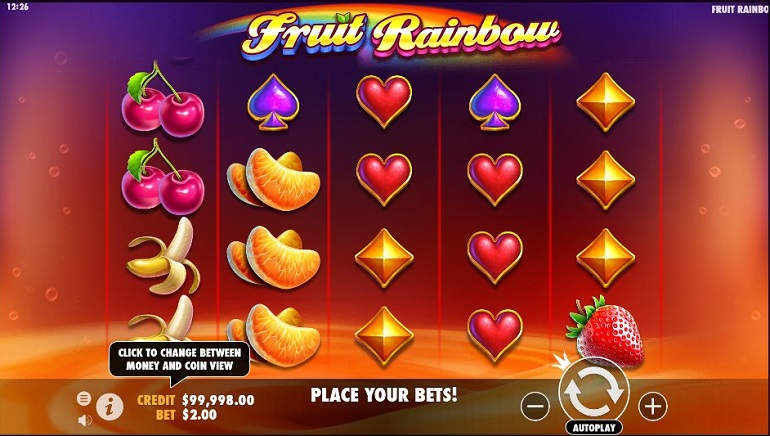 Pragmatic Play Releases Fruit Rainbow, A Colorful New Slot Game