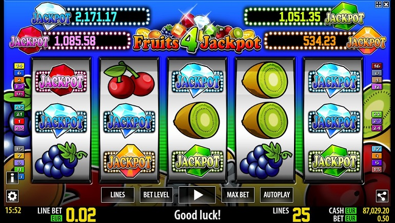 World Match's New Slot: Fruits 4 Jackpot HD