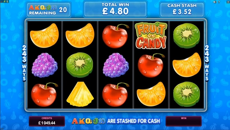 Sweet Delicious Wins with Microgaming's Fruit vs. Candy