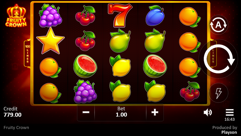 Fruity Crown is Now Live at Playson Casinos
