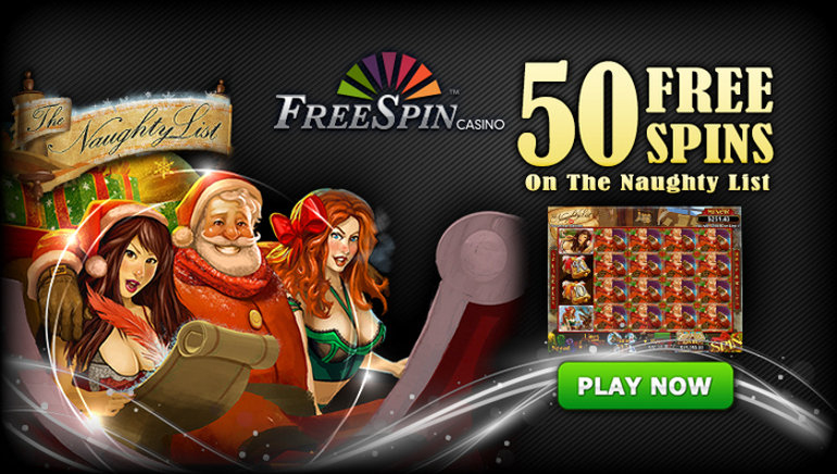 Get Naughty with these Spins at FreeSpin Casino