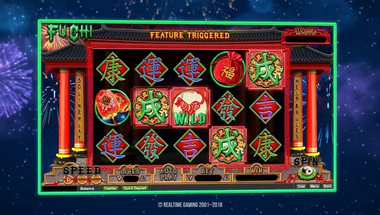 Celebrate The Chinese Year of The Dog With Realtime Gamings' Fu Chi Slot