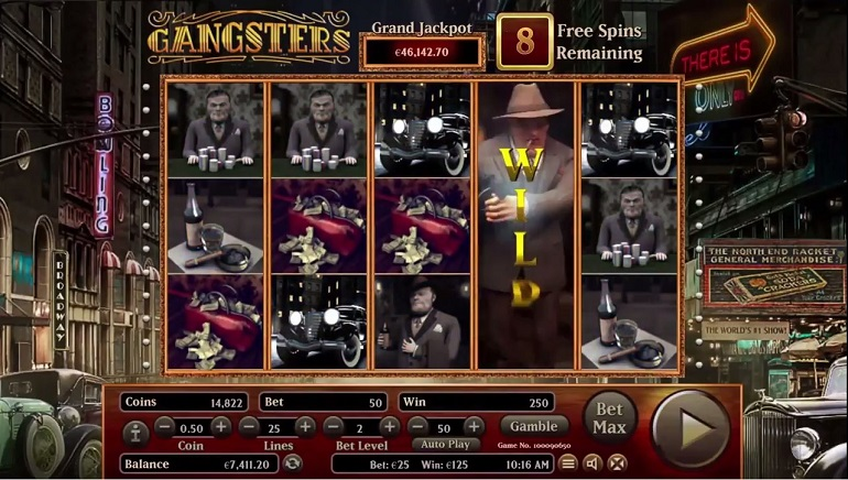 Back to The Roaring Twenties with New Habanero Gangsters Slot