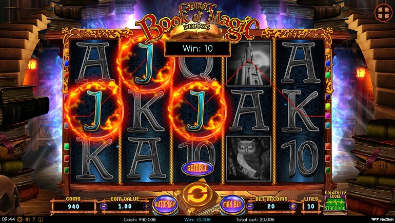 Wazdan Unveils Great Book of Magic Deluxe Slot