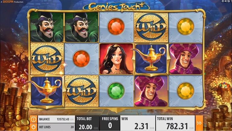 Quickspin Releases New Slot, Genie's Touch