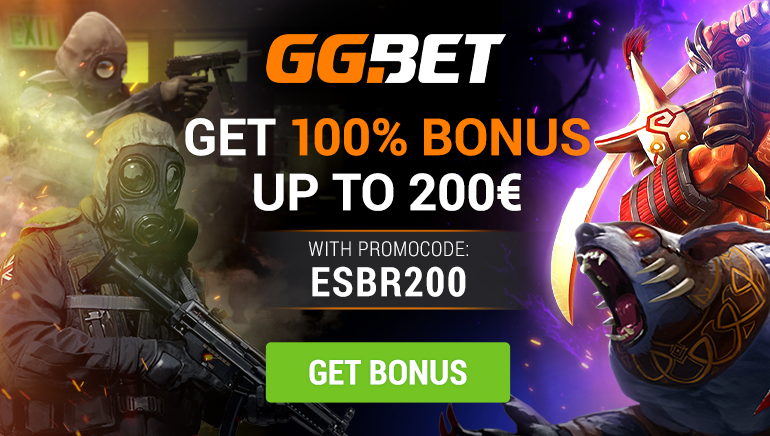 Exclusive 100% Up to €200 Bonus at GG.bet Casino
