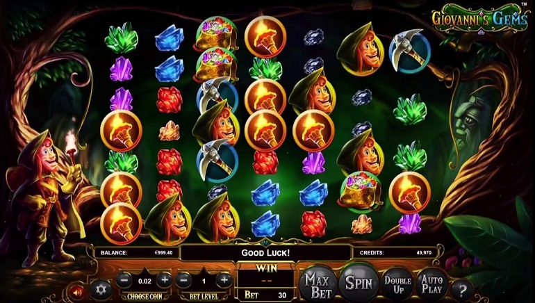 Uncover Giovanni's Gems in New Slot at BetSoft Casinos