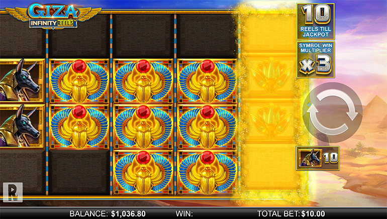 Yggdrasil and ReelPlay Combine for GIZA Infinity Reels™ Slot