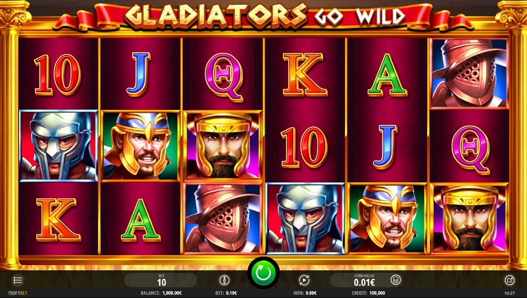 Slot Review: Gladiators Go Wild by iSoftBet