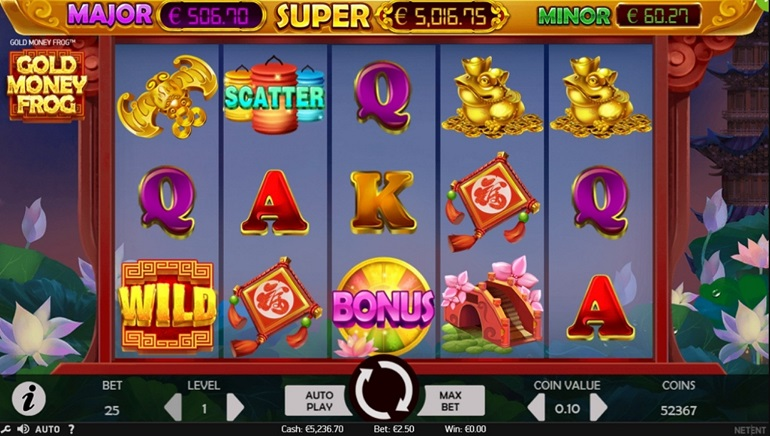 Gold Money Frog Slot Hops in at Select NetEnt Casinos