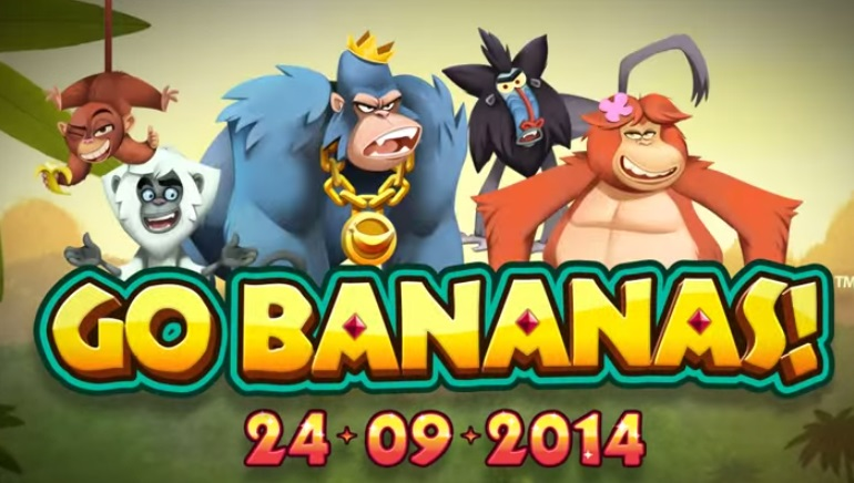 Go Bananas Slot New to NetEnt Casinos