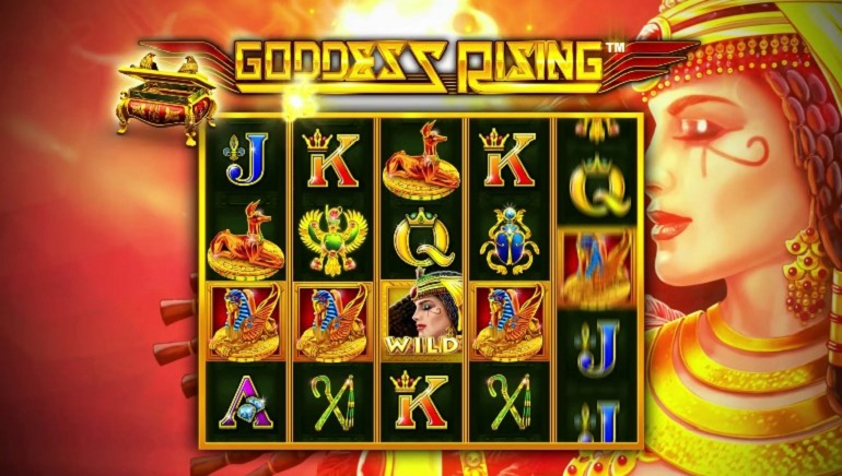 Novomatic Brings Ancient Egypt To Life With The Goddess Rising Slot