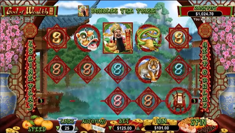 New God of Wealth Slot Hits RTG Casinos