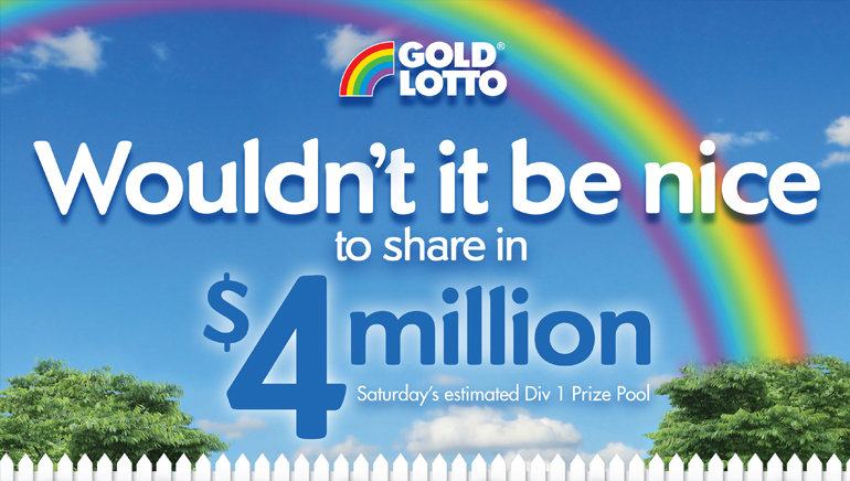 Gold Lotto Saturday and Wednesday