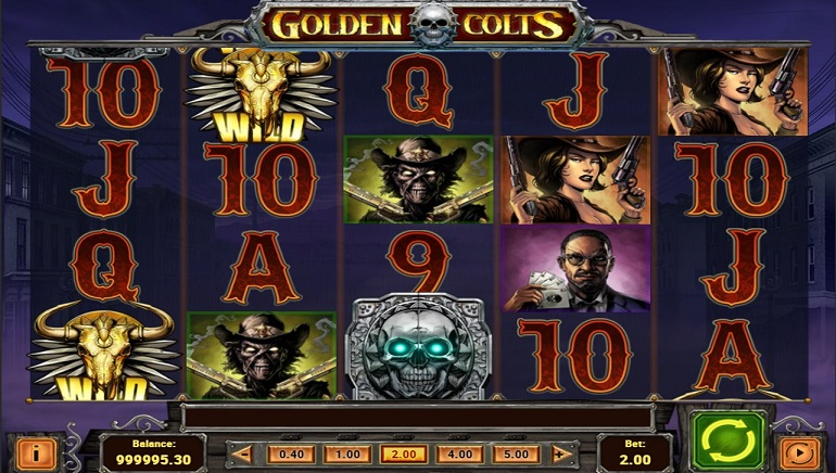 Play'n GO's Golden Colts Slots Hits the Mark Every Time