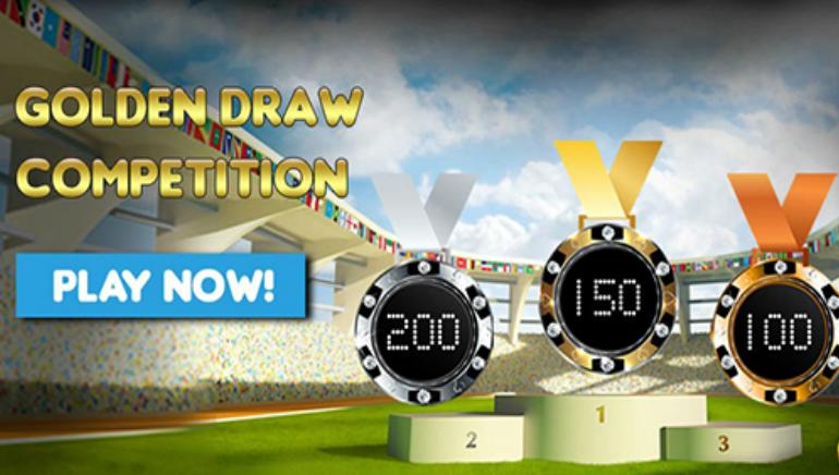 Enter Golden Rivera Casino's €30k Golden Draw Event