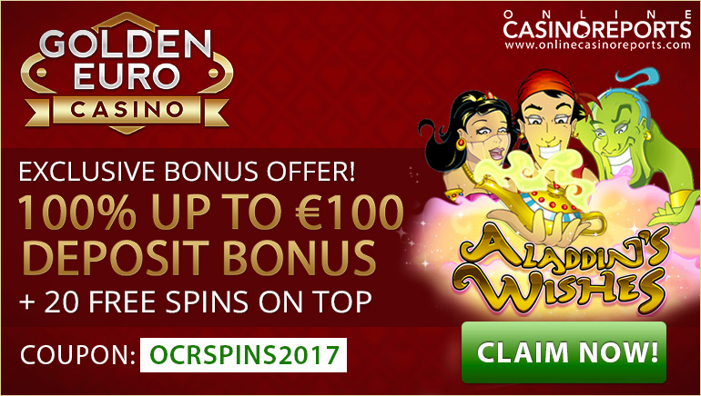 Make Your Wishes Come True at Golden Euro Casino