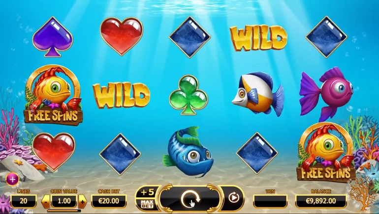 New Slot from Yggdrasil: Golden Fish Tank