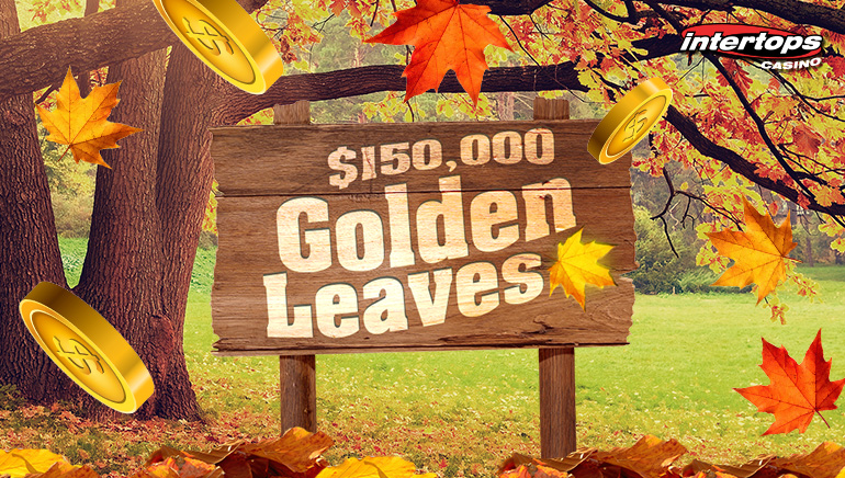Intertops Casino Celebrates Thanksgiving With $150,000 Golden Leaves Promo