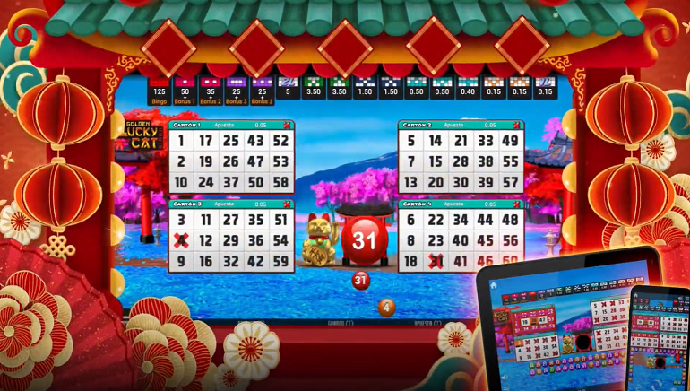 MGA Games Returns to Video Bingo with Golden Lucky Cat