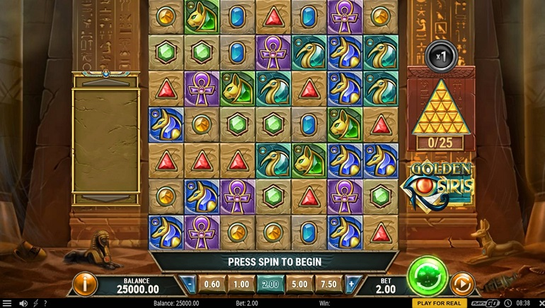 A Golden Opportunity with Play'n GO's New Slot, Golden Osiris