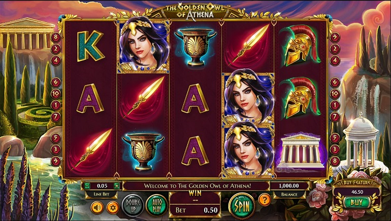 Slot Review: The Golden Owl of Athena by Betsoft